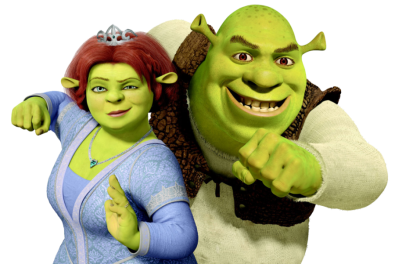 Shrek And Fiona - 900x601