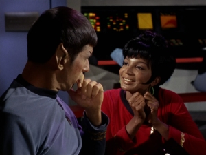Uhura_unsuccessfully_chats_with_Spock